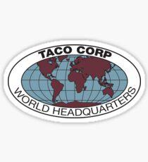 Taco Corp Sticker