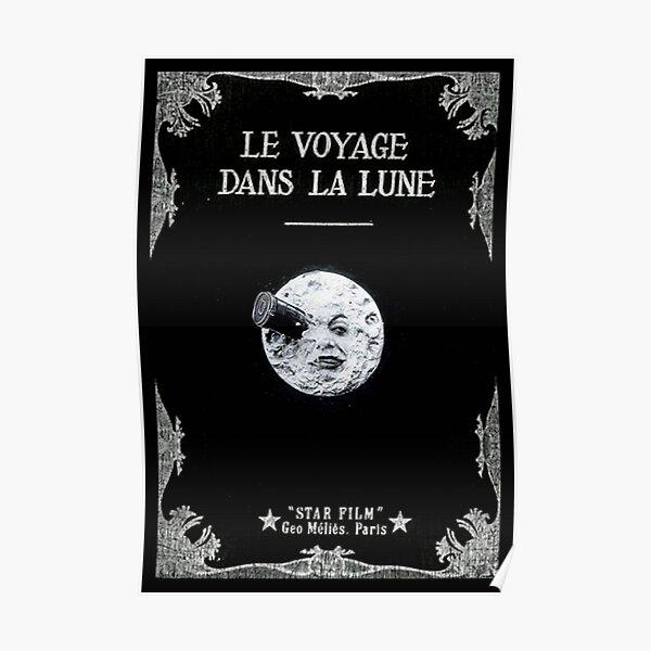 LE VOYAGE DANS LA LUNE GEORGE MELIES POSTER Poster
