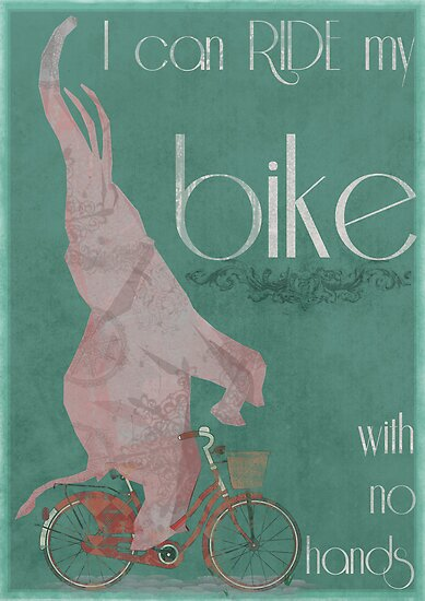 I Can Ride My Bike With No Hands by Andy Scullion