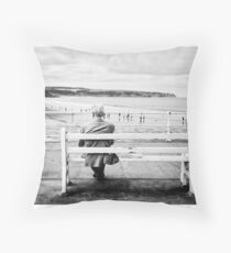 Yorkshire Coastline - Whitby (1) Throw Pillow