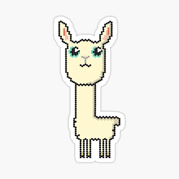 Llama pixel Sticker