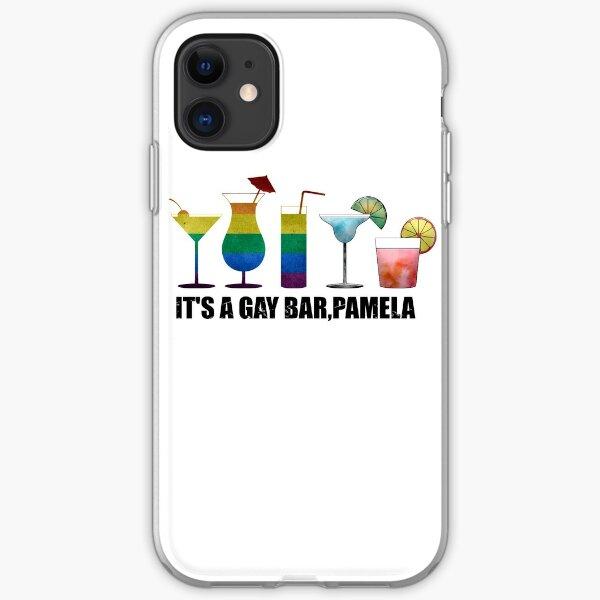 It's a gay bar, Pamela iPhone Soft Case
