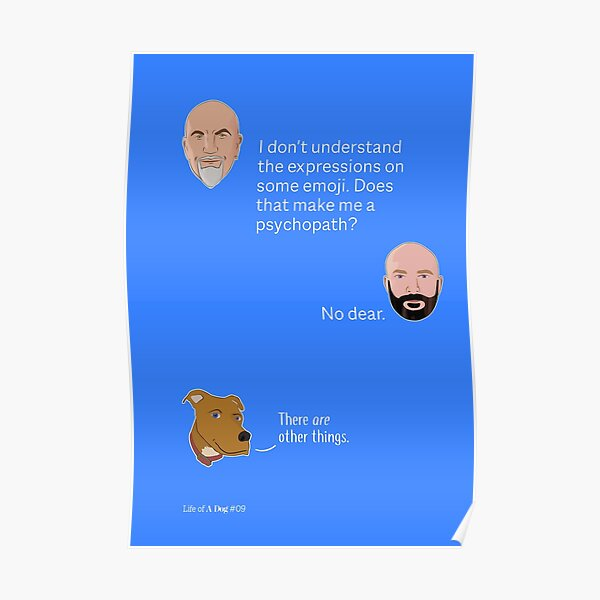 Self Doubt Associated With Emoji Poster