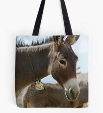 Burro # 2543 Tote Bag