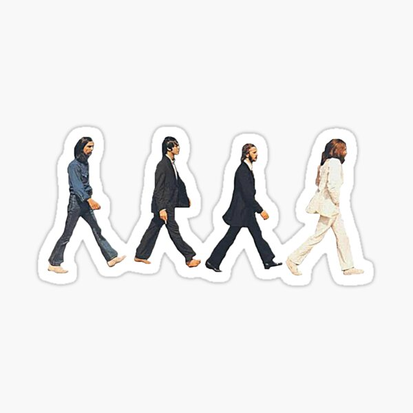 Music Icon Beatles Sticker