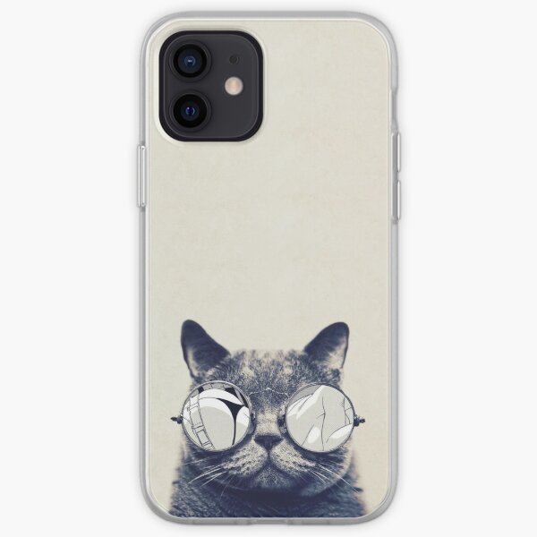 Hipster Cat iPhone Soft Case