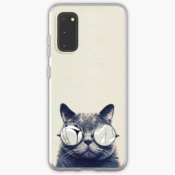 Hipster Cat Samsung Galaxy Soft Case