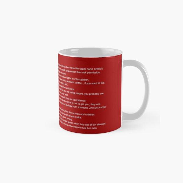 Gibbs' Rules Classic Mug
