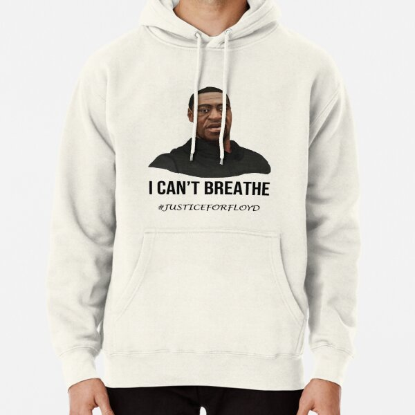Please i can't breathe - George Floyd Pullover Hoodie