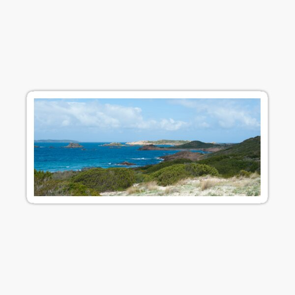 Sardinian Coast from the North East Sticker