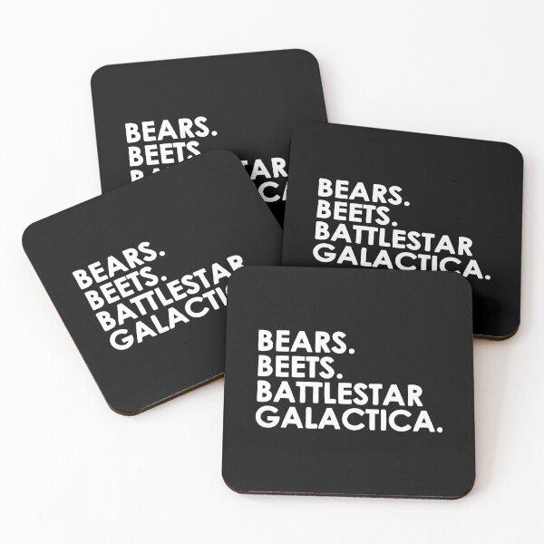 Battlestar Galactica 2 Coasters (Set of 4)