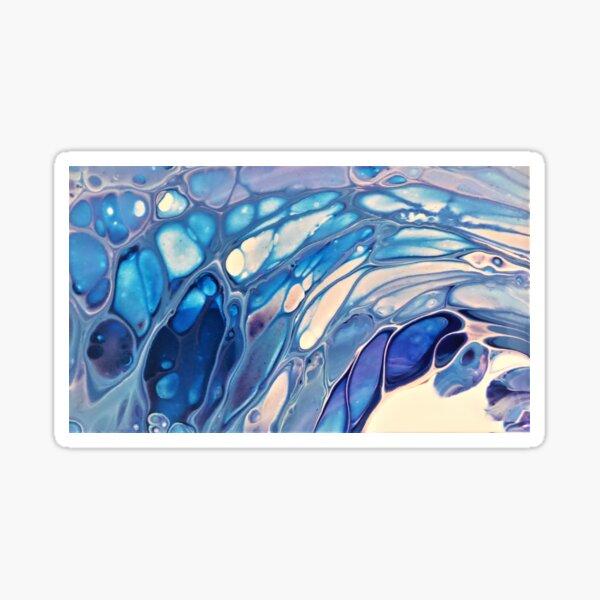 Ocean Blue Gems Sticker