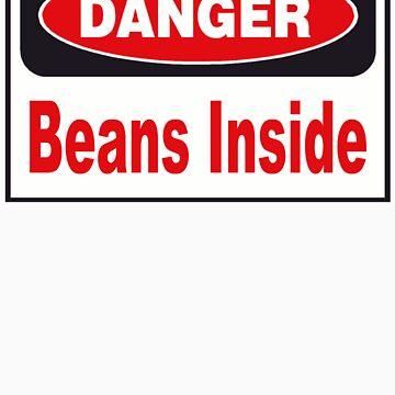 Danger Beans Inside by curiedi