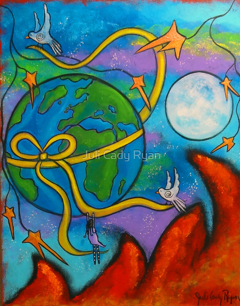 She Dreams Of Peace  by Juli Cady Ryan