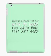 With my Woes iPad Case/Skin