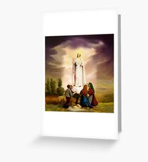 Our Lady of Fatima Greeting Card