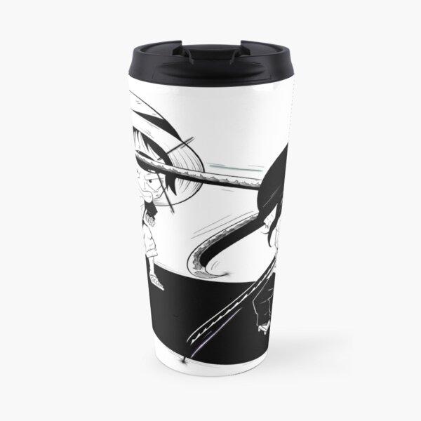 Hero Fight - Manga Style Travel Mug