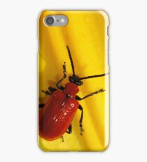 Red beetle iPhone Case iPhone Case/Skin