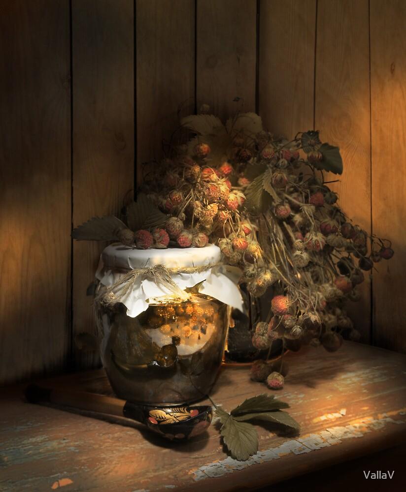 Strawberry jam by VallaV