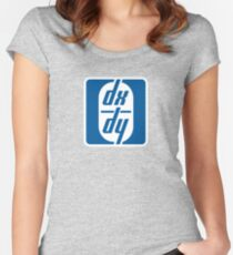 dx / dy Women's Fitted Scoop T-Shirt