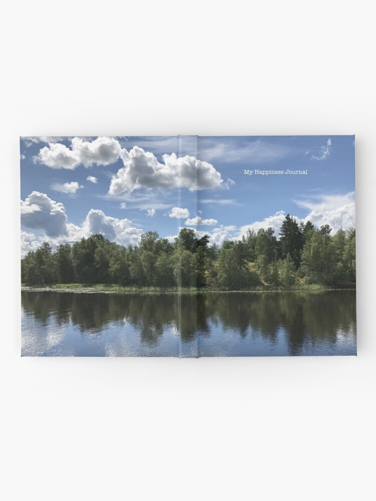 Alternate view of Happiness Journal / Lake Reflection Hardcover Journal
