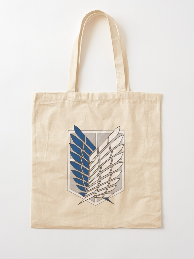 Attack On Titan Scouts Logo Cotton Tote Bag 15x15in.