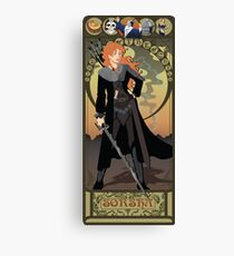 Sorsha Nouveau - Willow Canvas Print