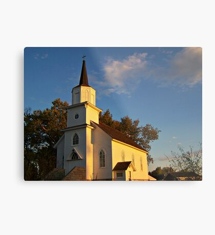 Beaver Creek Church Metal Print