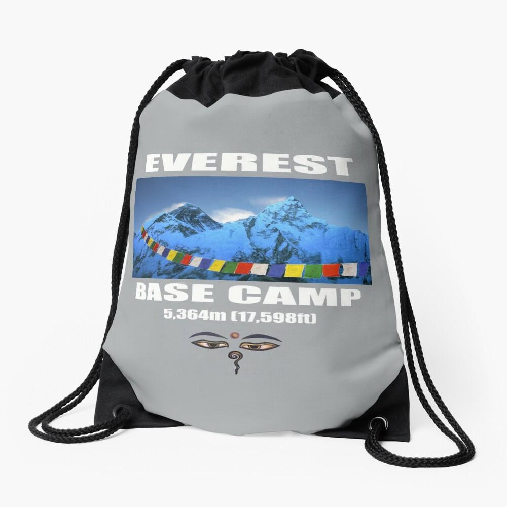 Everest Base Camp Drawstring Bag