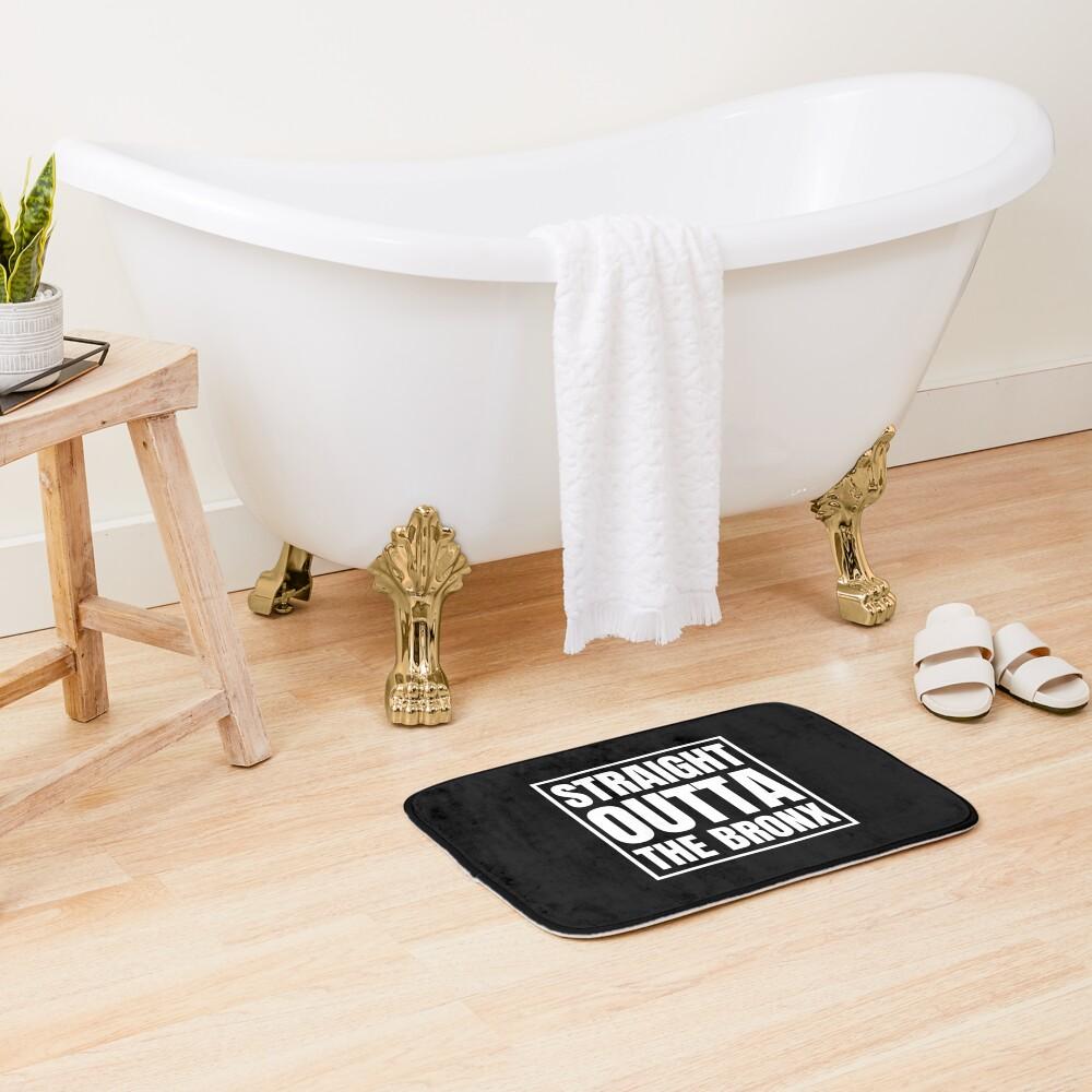 Straight Outta The Bronx Bath Mat