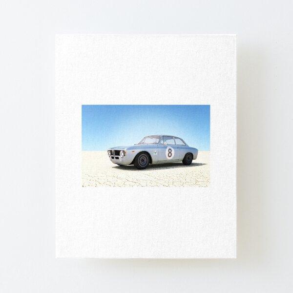 Bonneville GTA Canvas Mounted Print