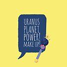 Uranus Planet Power by gallantdesigns