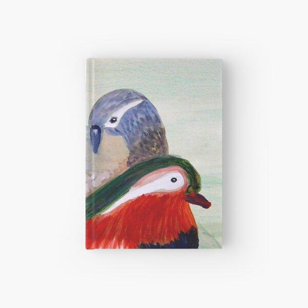 Mandarin Ducks Hardcover Journal