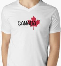 Canada maple leaf Mens V-Neck T-Shirt
