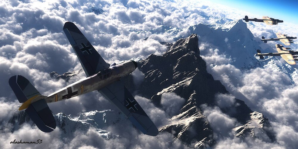 Out of the clouds. by alaskaman53