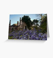 Eurama Ruins - Faulconbridge NSW Greeting Card