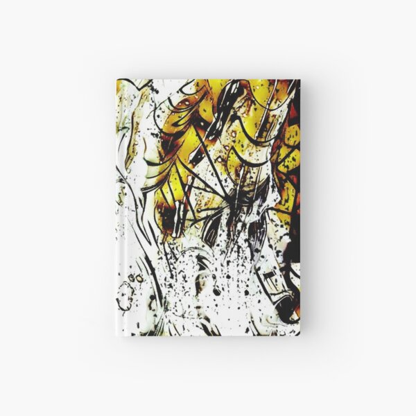 Accross The Abstract Skies Hardcover Journal