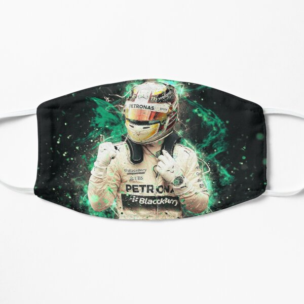 Lewis Hamilton # 001 Masque sans plis