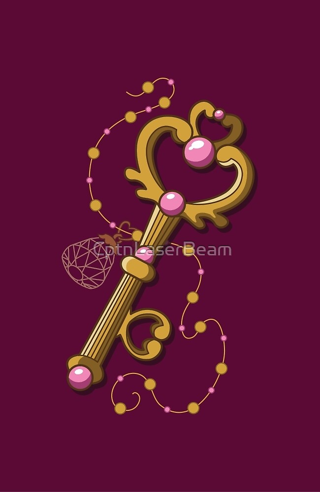 Chibiusa Time Key - Sailor Moon by CptnLaserBeam