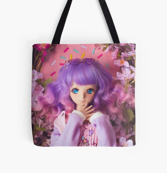 Pastel Queen · Melocotón All Over Print Tote Bag