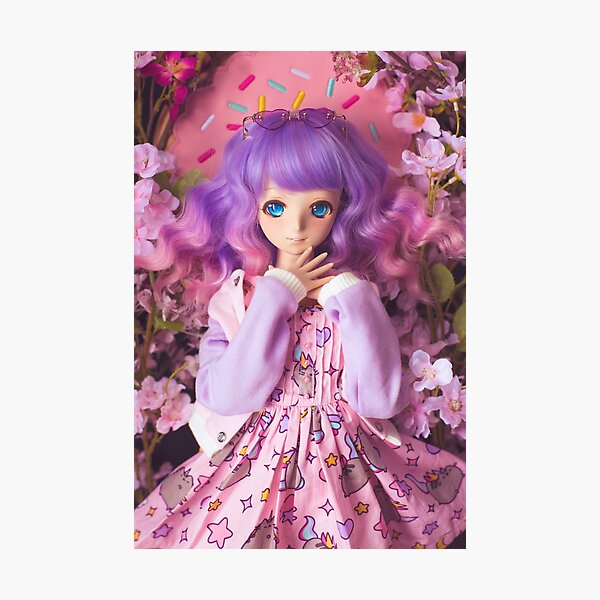 Pastel Queen · Melocotón Photographic Print