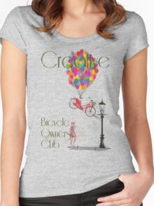 Creative Bicycle Owners Club Women's Fitted Scoop T-Shirt