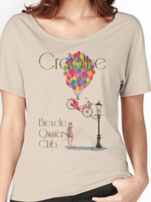 Creative Bicycle Owners Club Women's Relaxed Fit T-Shirt
