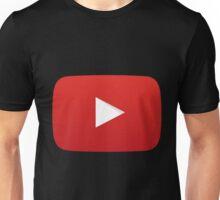 Youtube Logo Unisex T-Shirt