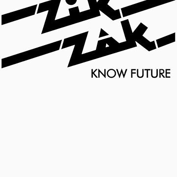 Zik Zak - The Sticker! by LurkingGrue