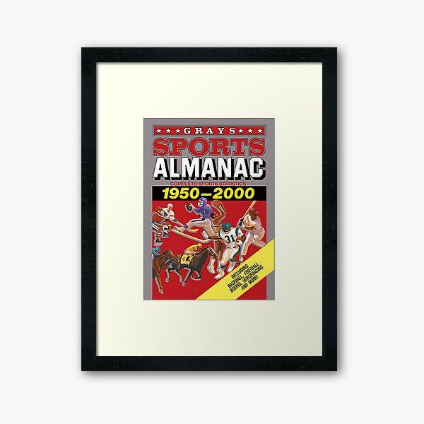Grays Sports Almanac Complete Sports Statistics 1950-2000 Framed Art Print