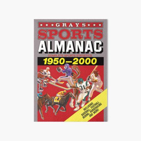 Grays Sports Almanac Complete Sports Statistics 1950-2000 Art Board Print