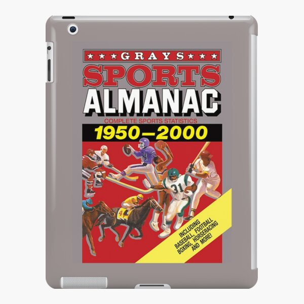 Grays Sports Almanac Complete Sports Statistics 1950-2000 iPad Snap Case