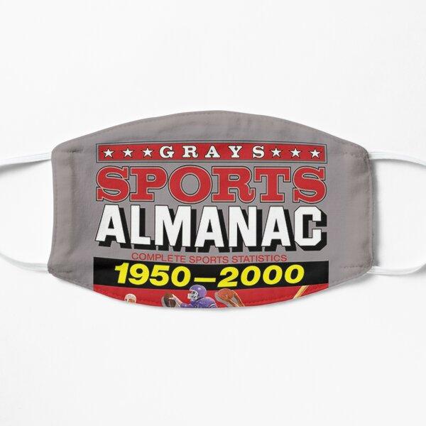 Grays Sports Almanac Complete Sports Statistics 1950-2000 Flat Mask