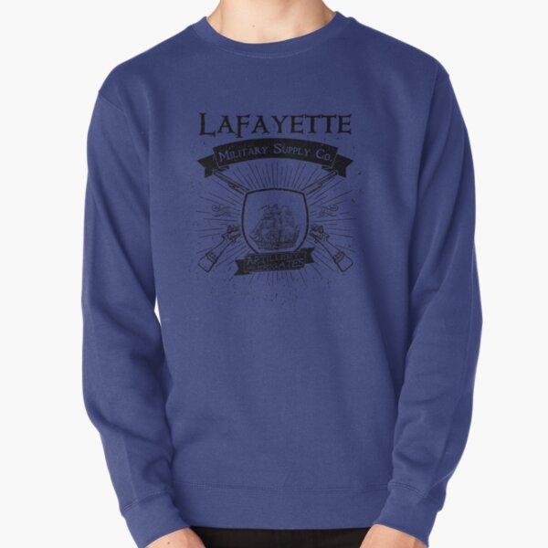 Guns and Ships - Black Pullover Sweatshirt